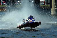 Tim Seebold's Seebold/Mercury F1/Formula 1 class.Bay City River Roar, Bay City,Michigan USA.26-2821 June, 2009..©F. Peirce Williams 2009 USA.F.Peirce Williams.photography.ref: RAW (.NEF) File Available
