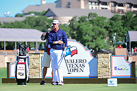 Smylie Kaufman (USA) looks over his tee shot on 11 during round 4 of the Valero Texas Open, AT&amp;T Oaks Course, TPC San Antonio, San Antonio, Texas, USA. 4/23/2017.<br /> Picture: Golffile | Ken Murray<br /> <br /> <br /> All photo usage must carry mandatory copyright credit (&copy; Golffile | Ken Murray)