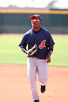 Jose Constanza, Cleveland Indians 2010 minor league spring training..Photo by:  Bill Mitchell/Four Seam Images.