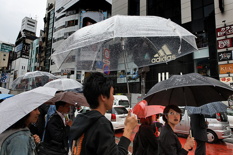 Street scenes from the Shibuyu area of downtown Tokyo.