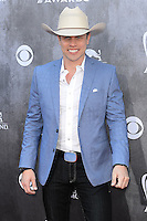 LAS VEGAS, NV, USA - APRIL 06: Dustin Lynch at the 49th Annual Academy Of Country Music Awards held at the MGM Grand Garden Arena on April 6, 2014 in Las Vegas, Nevada, United States. (Photo by Celebrity Monitor)