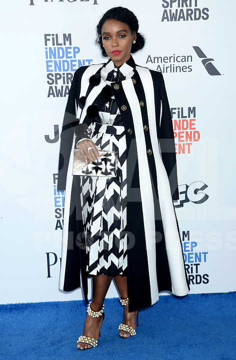 SANTA MONICA, 25.02.20-17 - SPIRIT-AWARDS -  Naomie Harris durante Film Independent Spirit Awards em Santa Monica na California nos Estados Unidos (Foto: Gilbert Flores/Brazil Photo Press/Folhapress)