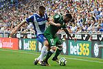 League Santander 2017-2018 - Game: 2<br /> RCD Espanyol vs CD Leganes: 0-1.<br /> David Lopez vs Diego Rico.