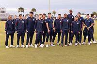 LAKEWOOD RANCH, FL - November 30, 2018: USMNT Under-17 Men's National Team vs Turkey. The 2018 Nike International Friendlies at Premier Sports Campus.