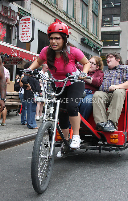 WWW.ACEPIXS.COM . . . . .  ....August 26 2009, New York City....Actress America Ferrera took part in a photo shoot for the TV show 'Ugly Betty' in midtown Manhattan on August 26 2009 in New York City....Please byline: AJ Sokalner - ACEPIXS.COM..... *** ***..Ace Pictures, Inc:  ..tel: (212) 243 8787..e-mail: info@acepixs.com..web: http://www.acepixs.com