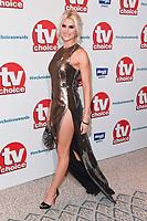 Sarah Jayne Dunn<br /> at the TV Choice Awards 2018, Dorchester Hotel, London<br /> <br /> ©Ash Knotek  D3428  10/09/2018