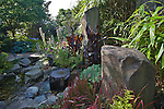 Seattle, Residential house, landscaped gardens, View Ridge, North Beach, neighborhood, Puget Sound, Pacific Northwest, Washington State,