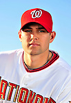 28 February 2010: Washington Nationals starting pitcher Craig Stammen poses for his Spring Training photo at Space Coast Stadium in Viera, Florida. Mandatory Credit: Ed Wolfstein Photo