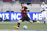 15 December 2013: Maryland's Dan Metzger. The University of Maryland Terripans played the University of Notre Dame Fighting Irish at PPL Park in Chester, Pennsylvania in a 2013 NCAA Division I Men's College Cup championship match. Notre Dame won the game 2-1.
