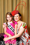 Kerry Rose Gemma Kavanagh pictured with her Rosebud Ava McGovernat the Carlton Hotel at the Rose of Tralee on Friday.