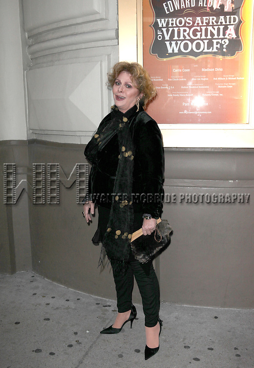 Elizabeth Ashley attending the Opening Night Performance of Edward Albee's 'Who's Afraid of Virginia Woolf?' at the Booth Theatre on October 13, 2012 in New York City.