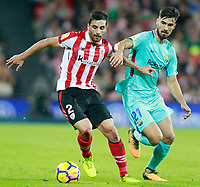 Athletic de Bilbao's Eneko Boveda (l) and FC Barcelona's Andre Gomes during La Liga match. October 28,2017. (ALTERPHOTOS/Acero) /NortePhoto.com