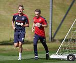 Clint Hill training with Craig Flannigan