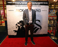 """Pictured: Manager Garry Monk. Sunday 14 September 2014<br /> Re: Film premiere of """"Jack To A King"""" depicting the recent history pf Swansea City Football Club, at the Odeon Cinema, Swansea, south Wales, UK."""