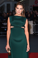 "Elizabeth Chambers<br /> at the London Film Festival 2016 premiere of ""Free Fire at the Odeon Leicester Square, London.<br /> <br /> <br /> ©Ash Knotek  D3182  16/10/2016"