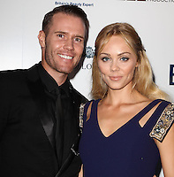 LOS ANGELES, CA, USA - APRIL 22: Oliver Trevena, Laura Vandervoort at the 8th Annual BritWeek Launch Party on April 22, 2014 in Los Angeles, California, United States. (Photo by Celebrity Monitor)