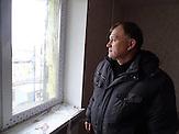 """Sergej Leonidowitsch ist in der Stadtverwaltung für den Wiederaufbau zuständig. Kaum eine andere Stadt im Donbass hat so sehr unter den Kriegshandlungen gelitten wie Debalzewe. Heute versuchen die Separatisten der """"Donezker Volksrepublik"""", Debalzewe als Musterstadt wieder aufzubauen."""
