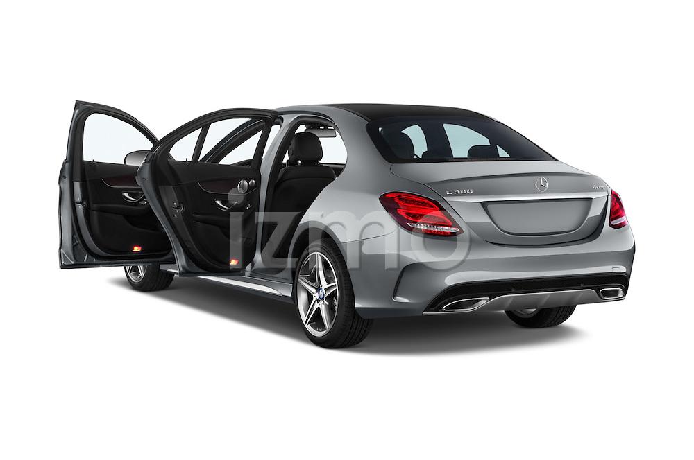 Car images of a 2018 Mercedes Benz C-Class C300 Sport 4 Door Sedan Doors