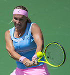March 31 2016: Svetlana Kuznetsova (RUS) defeats Timea Bacsinszky (SUI) by 7-5, 6-3 at the Miami Open being played at Crandon Park Tennis Center in Miami, Key Biscayne, Florida. ©Karla Kinne/Tennisclix/Cal Sports Media