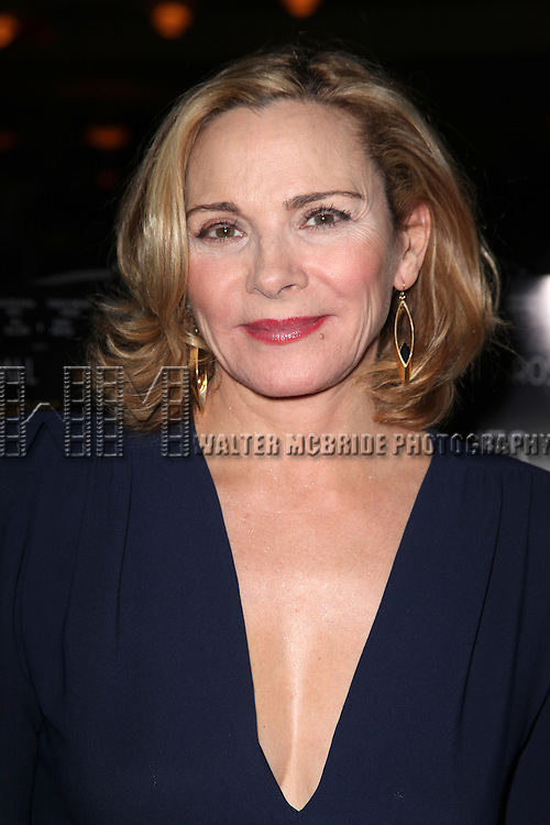 Kim Cattrall.attending the Opening Night Performance after party for 'Private Lives' at Bond 45 in New York City on 11/17/2011.