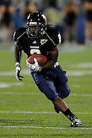 17 October 2009:  FIU running back Daunte Owens (8) carries the ball in the second quarter of the Troy 42-33 victory over FIU at FIU Stadium in Miami, Florida.