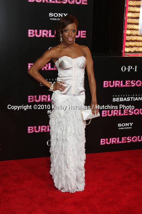 """LOS ANGELES - NOV 15:  Chelsea Traille  arrives at the """"Burlesque"""" LA Premiere  at Grauman's Chinese Theater on November 15, 2010 in Los Angeles, CA"""