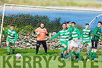 Action from Fenit Samphires v Listowel Celtic in the Munster Junior Cup in Fenit on Sunday