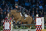 Lorenzo de Luca of Italy riding Halifax van het Kluizebos during the Hong Kong Jockey Club Trophy competition, part of the Longines Masters of Hong Kong on 10 February 2017 at the Asia World Expo in Hong Kong, China. Photo by Juan Serrano / Power Sport Images