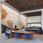UPenn Moelis Family Grand Reading Room at the Pelt-Dietrich Library Center