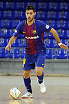 League LNFS 2017/2018 - Game 15.<br /> FC Barcelona Lassa vs Gran Canaria FS: 9-2.<br /> Adolfo Fernandez.