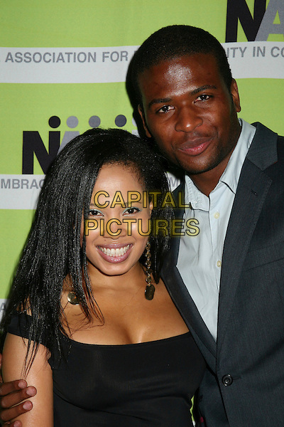 18 April 2006 - Beverly Hills, California - Suzette Tomlinson and Mfundo Morrison. 12th Annual NAMIC Vision Awards. Photo Credit: Byron Purvis/AdMedia