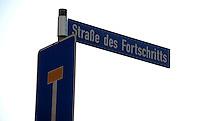 Feature - Straße des Fortschritts ist Sackgasse . Foto: aif / Norman Rembarz