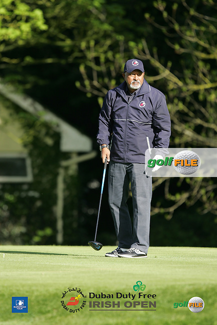 Bharat Godkhindi during Wednesday's Pro-Am ahead of the 2016 Dubai Duty Free Irish Open Hosted by The Rory Foundation which is played at the K Club Golf Resort, Straffan, Co. Kildare, Ireland. 18/05/2016. Picture Golffile | TJ Caffrey.<br /> <br /> All photo usage must display a mandatory copyright credit as: &copy; Golffile | TJ Caffrey.