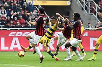 gol Patrick Cutrone . Goal Milan 1-1 <br /> Milano 2-12-2018 Stadio San Siro Football Calcio Serie A 2018/2019 AC Milan - Parma Foto Image Sport / Insidefoto