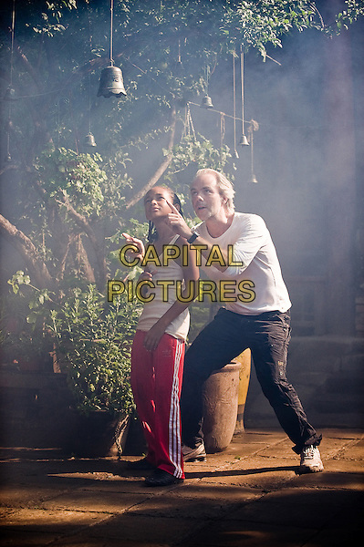 JADEN SMITH & HARALD ZWART (DIRECTOR).on the set of The Karate Kid (2010).*Filmstill - Editorial Use Only*.CAP/FB.Supplied by Capital Pictures.