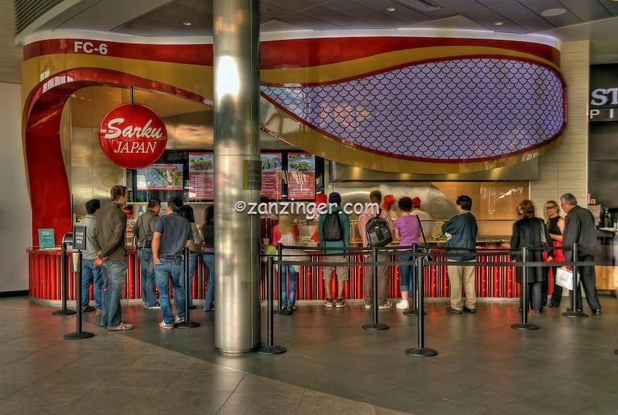 Sarku Japan, Food Court, The Market, Santa Monica Place, Santa Monica, CA; Dining, Fast Food, restaurant,