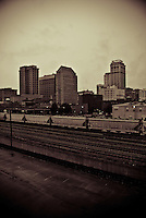 View of Birmingham, Alabama from the 22nd Avenue Bridge