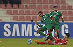 DPR Korea vs Saudi Arabia during the AFC U23 Championship 2016 Group B match on January 16, 2016 at the Grand Hamad Stadium in Doha, Qatar. Photo by Fadi Al-Assaad  / Lagardère Sports