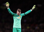 David De Gea of Manchester United - FA Cup Fourth Round replay - Manchester Utd  vs Cambridge Utd - Old Trafford Stadium  - Manchester - England - 03rd February 2015 - Picture Simon Bellis/Sportimage