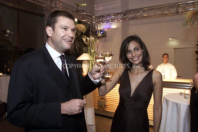 *** USA RIGHTS ONLY***    ..Ines Sastre and Matthieu Sipp attending the Lancome Austria party at the Orangerie Vienna in Vienna, Austria. May 2002. REF: PPSA2059. Please byline: NY Photo Press.   ..*PAY-PER-USE*      ....NY Photo Press:  ..phone (646) 267-6913;   ..e-mail: info@nyphotopress.com