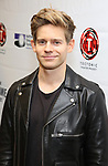 "Andrew Keenan-Bolger attends the cast photo call for ""Laramie: A Legacy""  on September 24, 2018 at The Gerald W. Lynch Theater at John Jay College in New York City."