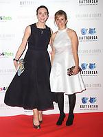 Amanda Abbington and Freya North at the Collars &amp; Coats Gala Ball 2018 at Battersea Evolution, Battersea Park, London on Thursday 1st November 2018<br /> CAP/JIL<br /> &copy;JIL/Capital Pictures