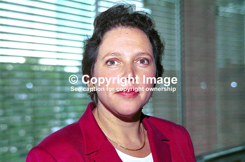 Susan Kramer, Liberal Democrat candidate in Mayor of London election, 1999. Ref:199909061. Taken at Liberal Democrats Annual Conference - Harrogate, England during September 99...Copyright Image from Victor Patterson, 54 Dorchester Park, Belfast, UK, BT9 6RJ..Tel: +44 28 9066 1296.Mob: +44 7802 353836.Voicemail +44 20 8816 7153.Skype: victorpattersonbelfast.Email: victorpatterson@mac.com.Email: victorpatterson@ireland.com (back-up)..IMPORTANT: If you wish to use this image or any other of my images please go to www.victorpatterson.com and click on the Terms & Conditions. Then contact me by email or phone with the reference number(s) of the image(s) concerned.