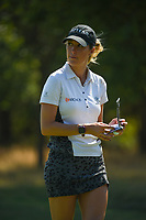 Jaye Marie Green (USA) heads to the tee on 13 during the round 3 of the Volunteers of America Texas Classic, the Old American Golf Club, The Colony, Texas, USA. 10/5/2019.<br /> Picture: Golffile   Ken Murray<br /> <br /> <br /> All photo usage must carry mandatory copyright credit (© Golffile   Ken Murray)