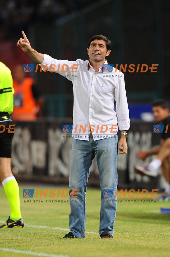 Garcia Toral ( Siviglia ).Calcio Football.Napoli - Siviglia - Amichevole Friendly Match.Napoli, 07.08.2011 - Stadio San Paolo.Foto Insidefoto