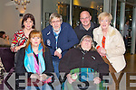 GOOD TIME: Enjoying a good time at the concert in aid MS Ireland at the Carlton hotel, Tralee on Saturday front l-r: Carmel Birmingham and Sus Sweeney. Back l-r: Annmarie Heaslip, Joe Sweeney and Mike and Catherine Dolan.