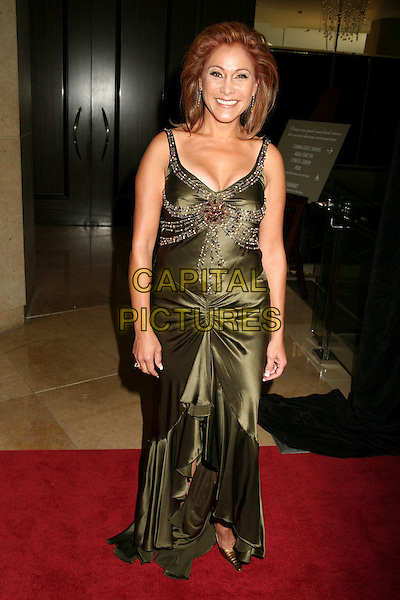 ALINA ROSARIO.21st Annual Imagen Awards Gala, Beverly Hills, California, USA..August 18th, 2006.Ref: ADM/BP.full length green satin dress.www.capitalpictures.com.sales@capitalpictures.com.©Byron Purvis/AdMedia/Capital Pictures.
