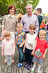 Family Fun Day: Attending the family fun day in the Square, Listowel on Sunday afternoon last were Orla, Seamus, Sinead & Diarmuid Lyons with their parents Eilish & Jimmy Lyons, Listowel.