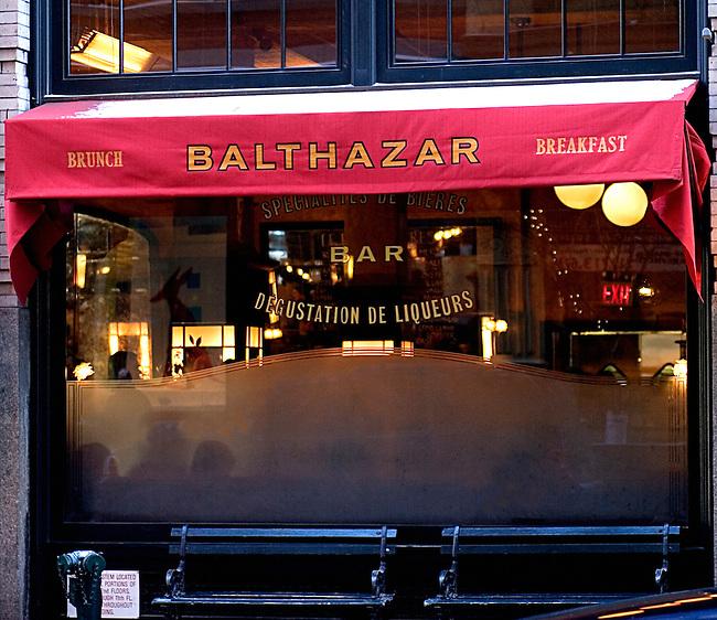 Balthazar Restaurant, New York, New York