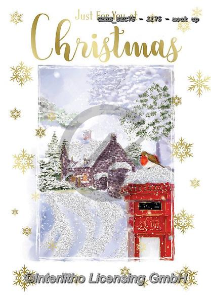 John, CHRISTMAS LANDSCAPES, WEIHNACHTEN WINTERLANDSCHAFTEN, NAVIDAD PAISAJES DE INVIERNO, paintings+++++,GBHSSXC75-1175-,#xl#